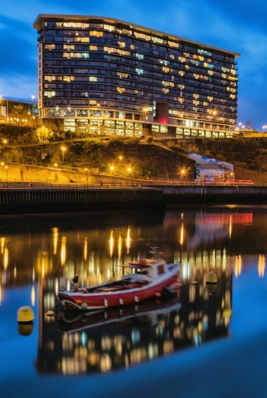 Sunderland Riverside At Night